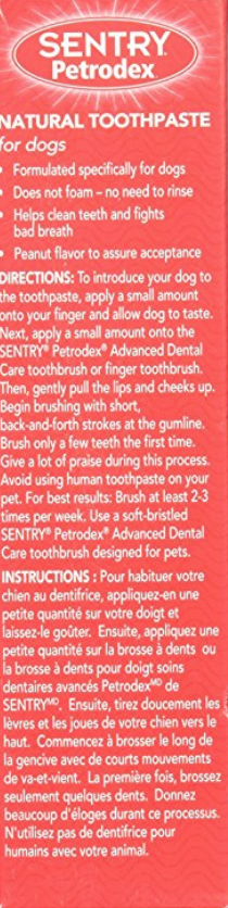 The Ingredients List For The Best Natural Dog Toothpaste On The Market.